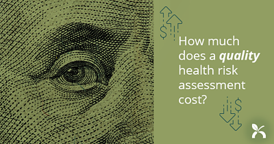 How much does a quality Health Risk Assessment (HRA) cost?