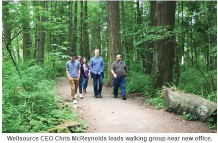 Workforce Wellness Group Walk