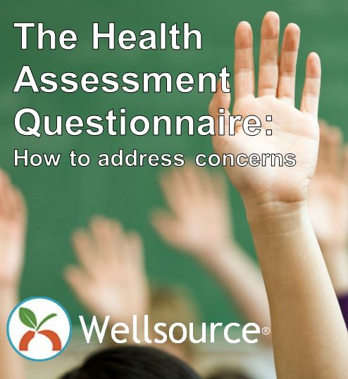 The health assessment questionnaire: How to address concerns