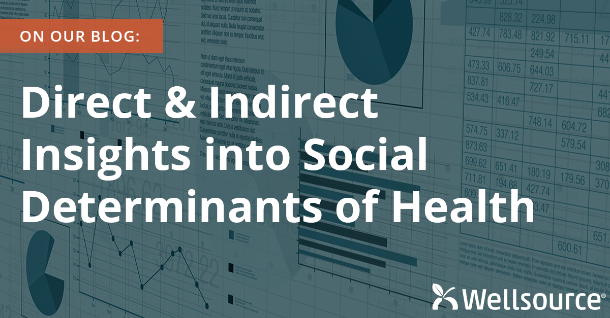 Direct and Indirect Insights into Social Determinants of Health